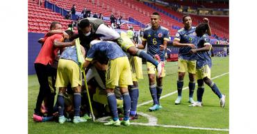 Un doblete de Luis Díaz le da a Colombia el tercer puesto