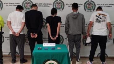 Cárcel a 5 hombres que usaban menores para expender drogas