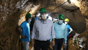 Modernizan un túnel de más de hace 60 años en Armenia