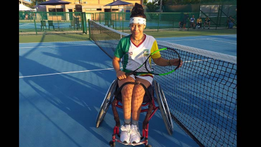 Érika Andrea, una campeona sobre silla de ruedas