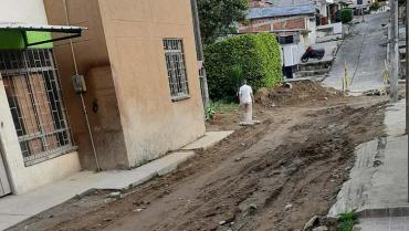 En El Poblado denuncian retrasos en la expansión del alcantarillado