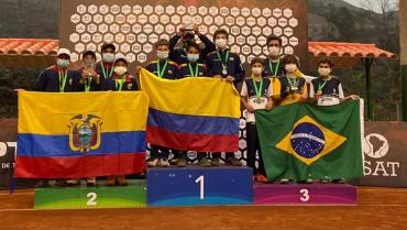 Samuel Mesa se coronó campeón en el Sudamericano