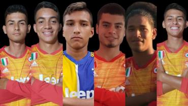 6 futbolistas 'quindianos' jugarán en la segunda división de Nicaragua