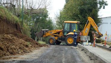 Arrancaron obras en la vía Circasia - Montenegro