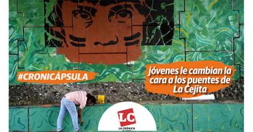 #Cronicápsula | Jóvenes se ponen la camiseta para recuperar puentes de 'La Cejita'
