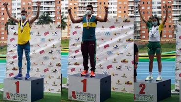 Atletas quindianos triunfaron en Bucaramanga