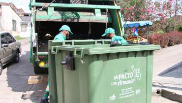 En Armenia se instalarán 200 contenedores de basura