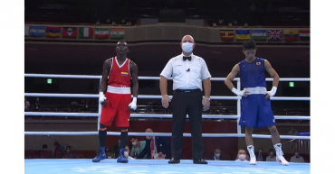 El colombiano Yuberjen Martínez cae por medalla ante el japonés Tanaka