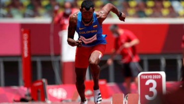 En los Olímpicos,Zambrano corre final de 400 metros planos