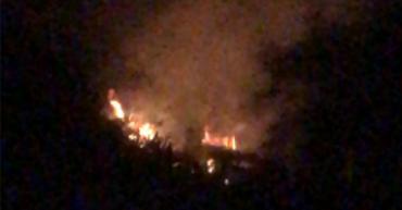 Incendio en El Morro, en Calarcá, está controlado según bomberos