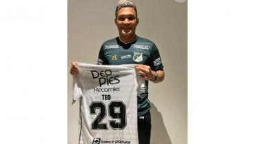 El delantero Teófilo Gutiérrez, nuevo refuerzo del Deportivo Cali