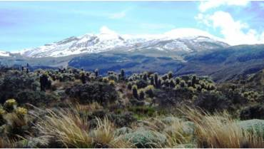 Hombre extraviado en el Parque Natural de los Nevados