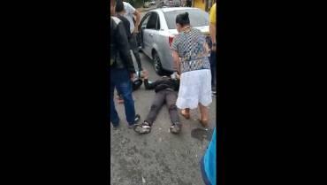 Múltiple choque en Calarcá