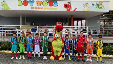 Hoy se inicia la Liga Infantil Boy Toys