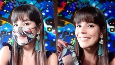 Daniela Toro, la artista de los tapabocas inclusivos