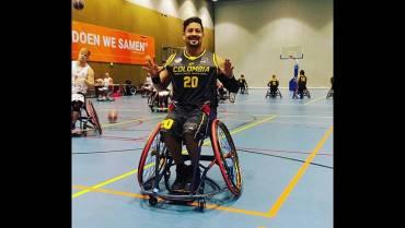 Neja Sanz, de figura profesional del baloncesto a jugar en silla de ruedas