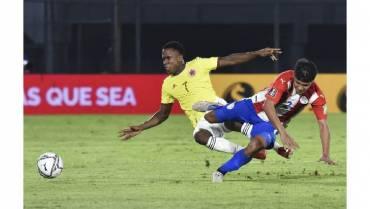 1-1. Paraguay y Colombia firman tablas y sufren con falta de poder ofensivo