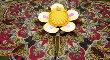 El tapiz de la Feria de Flores se pone al servicio de la niñez