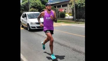 Atleta olímpico Gerard Giraldo se prepara para el 10K de Sevilla