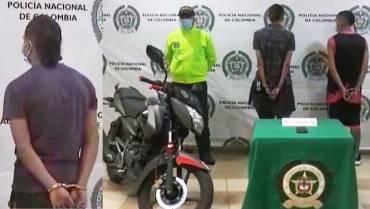 Capturaron 3 ladrones que tenían más de 9 anotaciones criminales