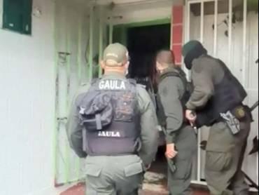 Golpe contra el grupo delincuencial 'Los Gaitanista' que extorsiona en el Quindío