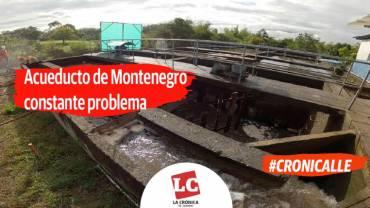 #Cronicalle | Acueducto de Montenegro constante problema