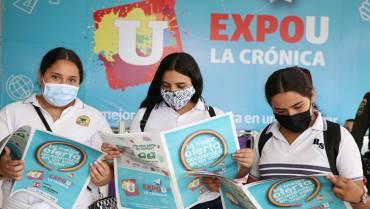 Éxito en asistencia en primer día de ExpoU
