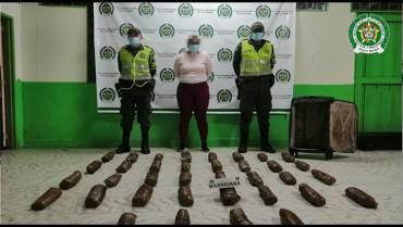 110 mujeres capturadas en el Quindío por tráfico de drogas
