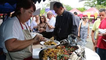 Éxito con el festival gastronómico del Seminario Mayor, se viene el bingo