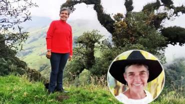 Claudia Valencia con su mochila de oficios siembra esperanza