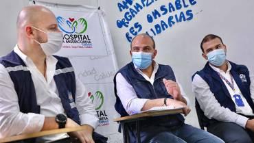 Defensor nacional del Pueblo vino al Quindío para conocer la crisis hospitalaria