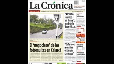 Lo registramos en el 2012: Las fotomultas fueron una trampa para Calarcá