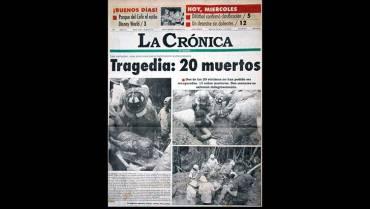 En 1996: 3 casas quedaron sepultadas