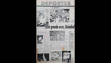 Así ocurrió en 1997: D. Quindío estuvo a segundos de la Libertadores