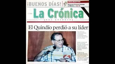 En 2005: Fueron entregados los despojos  mortales de Ancízar López López