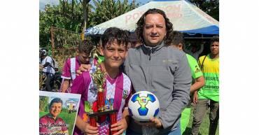 Quindianos es el equipo campeón de la I Liga Boy Toys