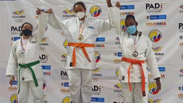Judocas quindianos ganaron 2 medallas de oro en nacional