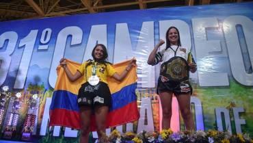 Medalla de plata para Valentina Betancourt, en campeonato internacional de Muay Thai