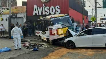 Un muerto y 6 heridos dejó accidente de tránsito en Armenia